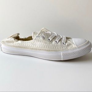 Converse All Star Shoreline Slip On White Ivory